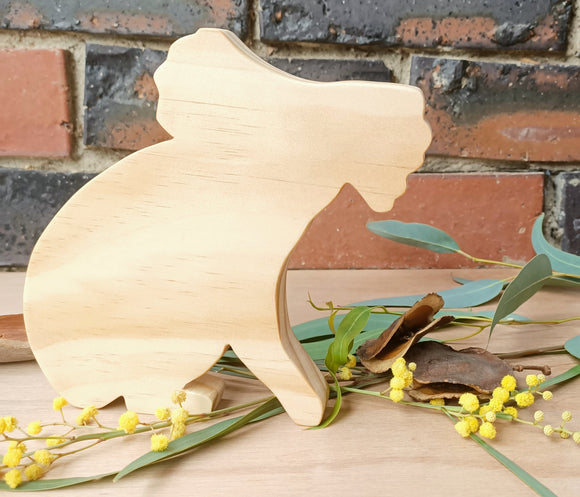Wooden Koala Shelfies