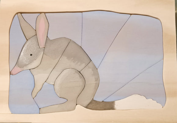 Wooden Bilby Puzzle