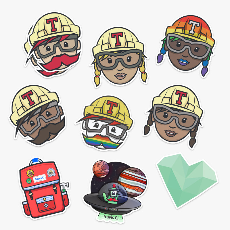 Personal Sticker Pack (10 Stickers)