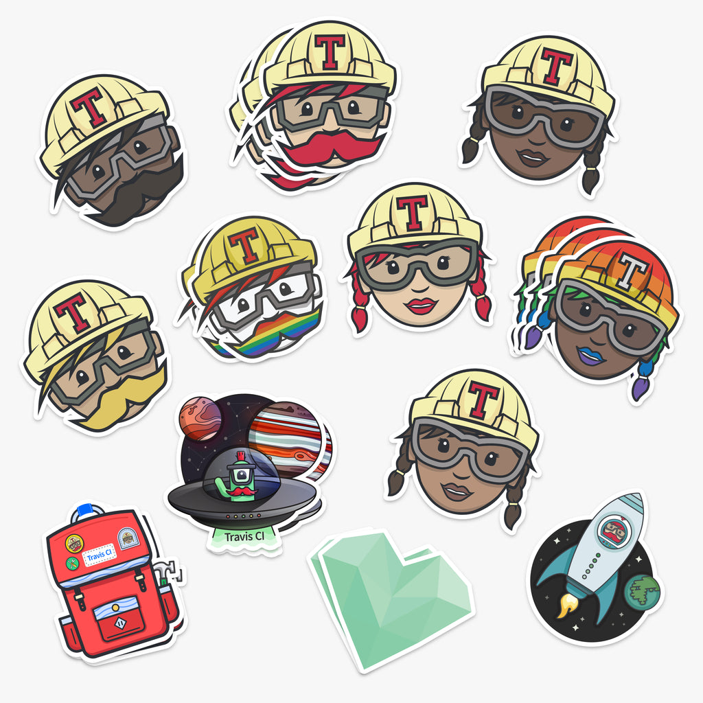 Team Sticker Pack (20 Stickers)