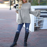 Jamie Top Gray Styled Outfit