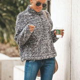 Christine Sherpa Fleece Pullover 3