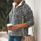 Christine Sherpa Fleece Pullover Side