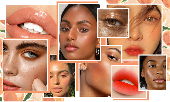 Ultimate Guide to Peach Makeup – for Lips, Cheeks & Eyes.