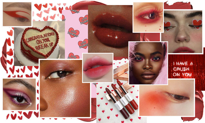 Valentine's Day Makeup Ideas - 5 Looks to have you LOVESTRUCK!