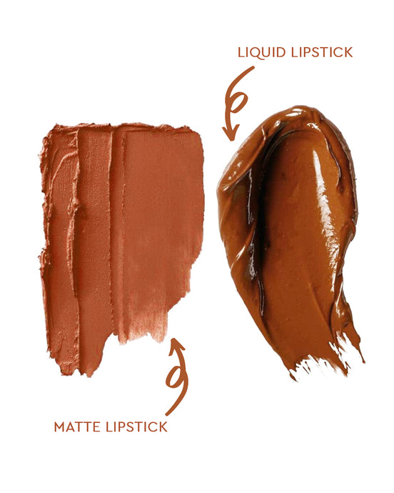 PEACH BROWN LIPSTICK SET | DALIA (1395516538941)