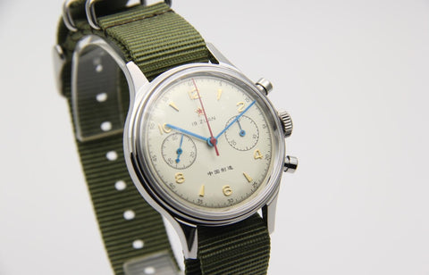 SEAGULL 1963 HANDWIND MECHANICAL CHRONOGRAPH 38mm