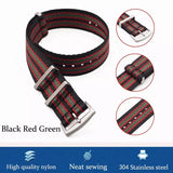 High quality seatbelt nylon nato watchstraps