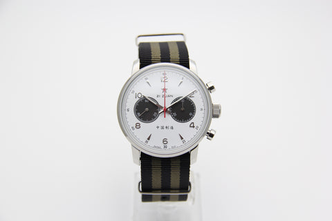 SEAGULL 1963 HANDWIND MECHANICAL CHRONOGRAPH 42mm (PANDA)