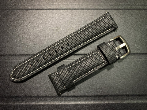 Premium cowhide leather watch strap