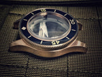 Bronze 52 FF style watch case (with top hat sapphire,bezel,crown)