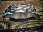 52 FF style watch case (with top hat sapphire,bezel,crown)