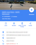 Google Maps Local Visit & Reviews
