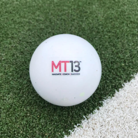 MT13 White Smooth Ball