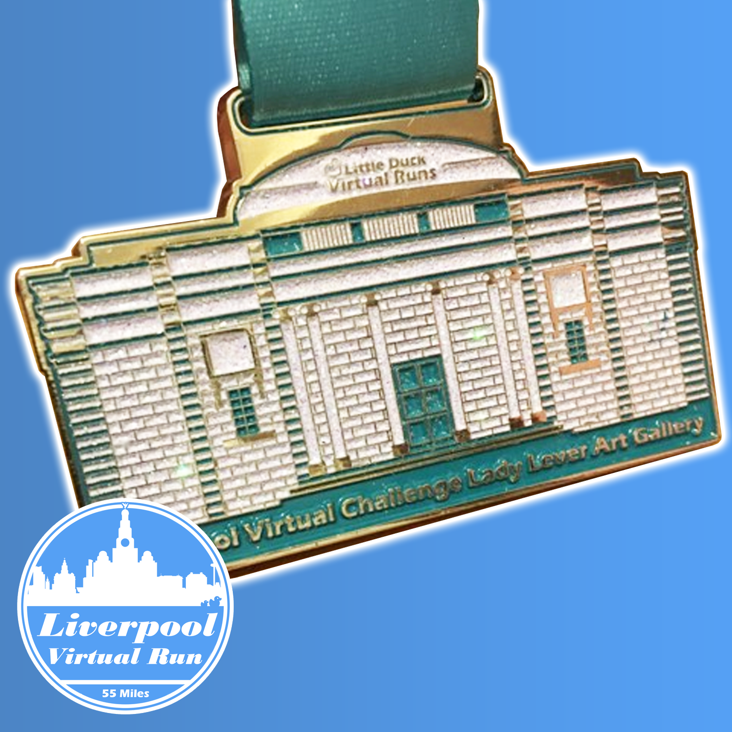 Liverpool 55 Mile Virtual Run (you don't have to do the 55 miles in one go, phew!)
