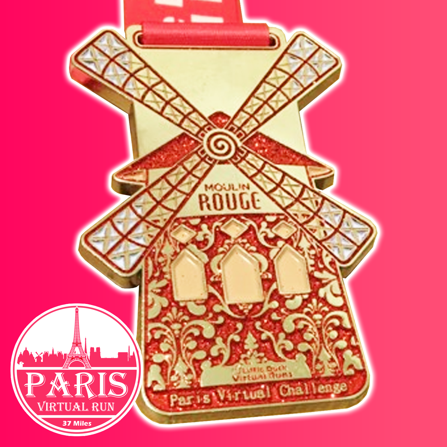 Paris 26.2 Mile Virtual Run ( you don't have to do the 26.2 miles in one go, phew!)