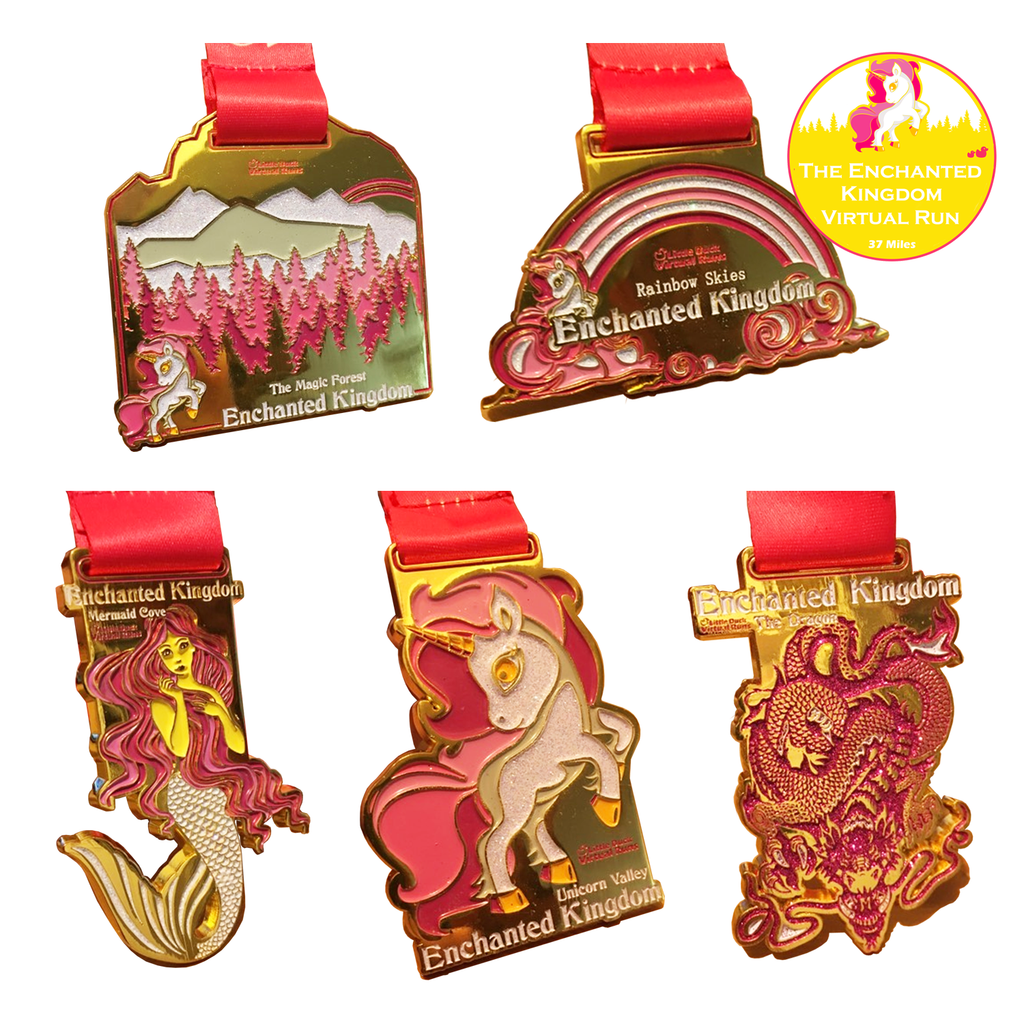 The Enchanted Kingdom 37 Mile Virtual Run (you don't have to do the 37 miles in one go, phew!)