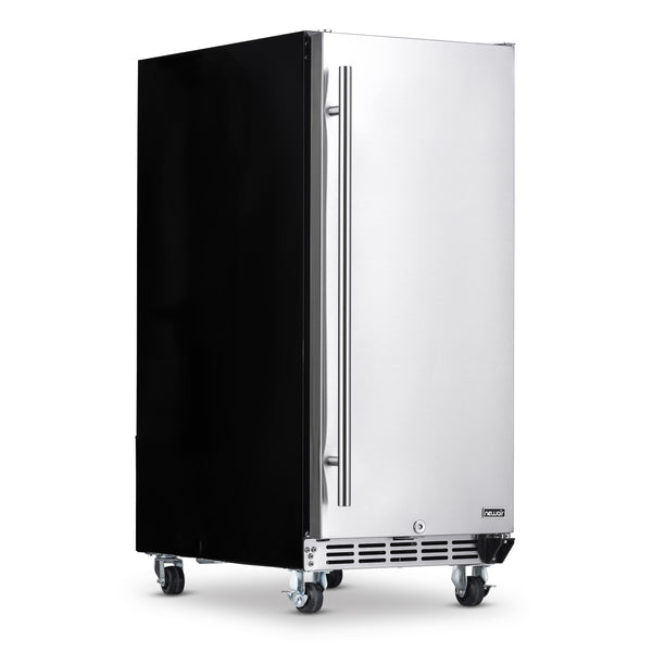"NewAir 15"" Built-In 90 Can Outdoor Weatherproof Beverage Fridge"