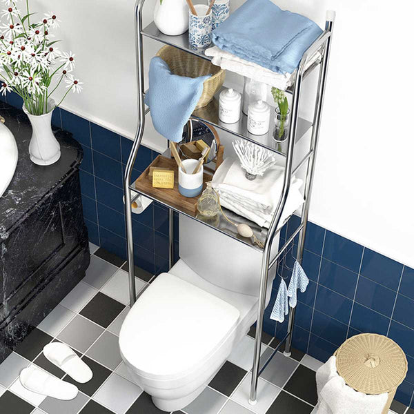 Stainless Steel Shelving (Over Toilet or Over Washer)