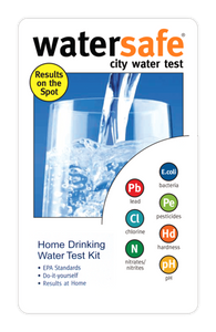 WaterSafe® City Water Test Kit