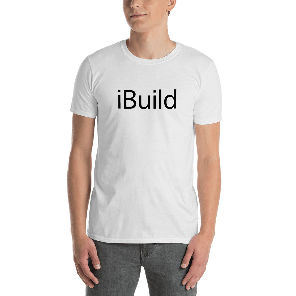 iBuild - Short-Sleeve Men's T-Shirt