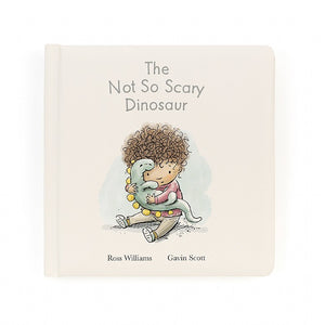 Jellycat not so scary dinosaur book