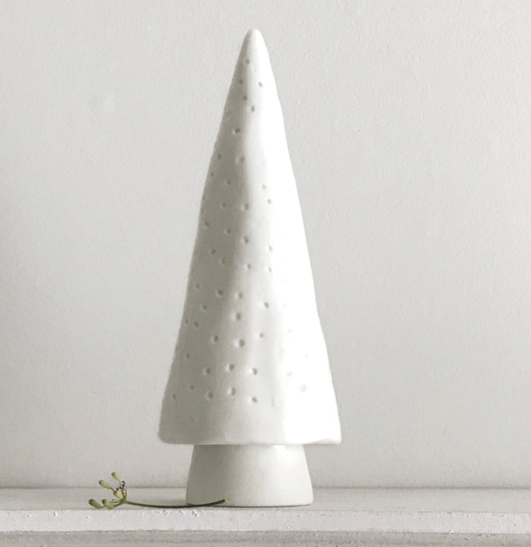 East of India Large porcelain Conical Tree