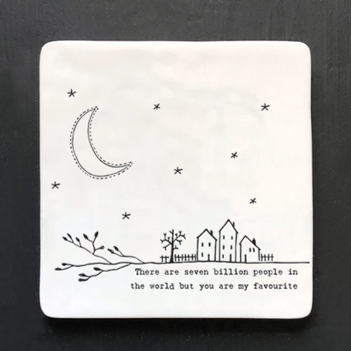 East of India twig design coaster