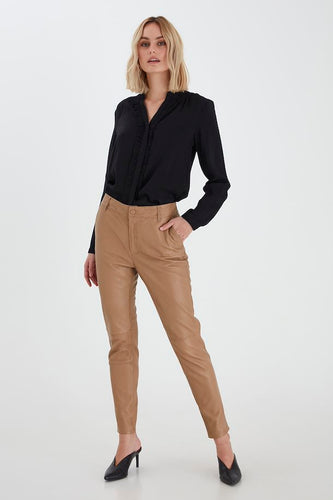 Pulz Premium Chloe Leather Pant