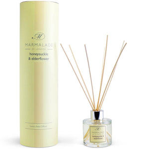 Marmalade Of London Honeysuckle & Elderflower Reed Diffuser
