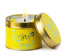 Lily Flame Spring Time candle