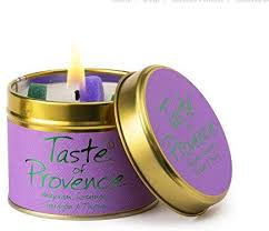 Lily Flame Taste of Provence Candle