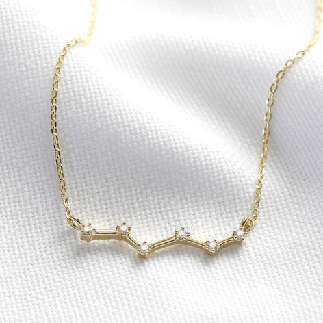 Lisa Angel Gold Constellation Necklace