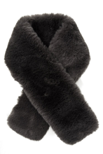 Load image into Gallery viewer, Faux Fur Tuck Scarf