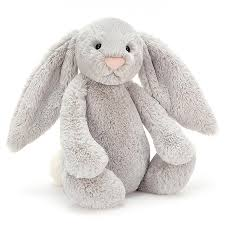 Jellycat Silver Bunny (all sizes)