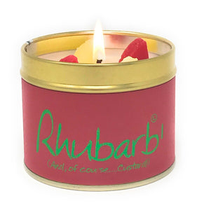 Lily-Flame 'Rhubarb' Scented Candle