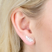 Load image into Gallery viewer, Lisa Angel Feather Earrings