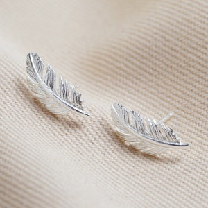 Lisa Angel Feather Earrings
