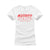 GODDESS LENGTHS VIRGIN HAIR LOGO TEE (WHITE TEE / RED LOGO)
