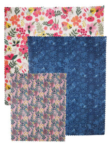 Beeswax Food Wraps – Winter Bouquet