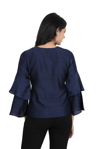 Full sleeve with pack round back neck and square in front side for Women & girls