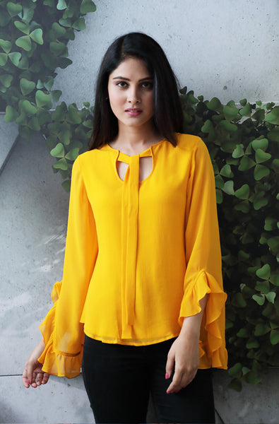 Sunshine on-the go Yellow Top