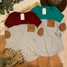 Load image into Gallery viewer, Sycamore Colorblock V-Neck