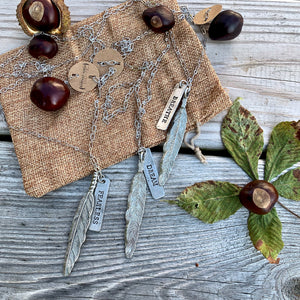 Silver Wandering Necklace
