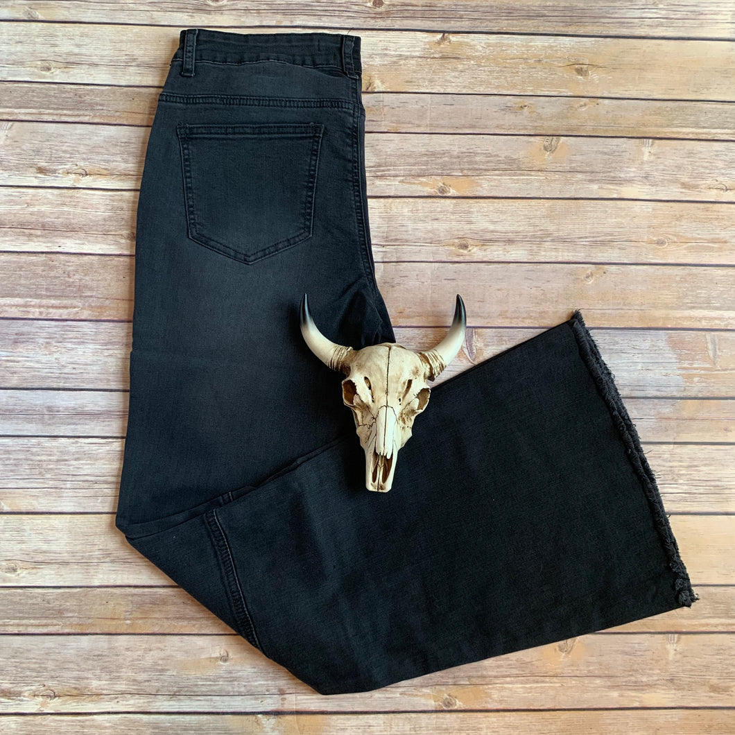 Black Betty Jean Flares