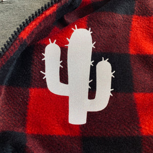 Buffalo Plaid Cactus Jacket