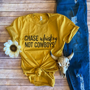Chase Whiskey Not Cowboys