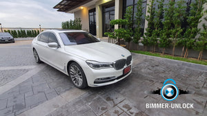 BMW S7 G12 Coding Apple CarPlay and Another Full Option
