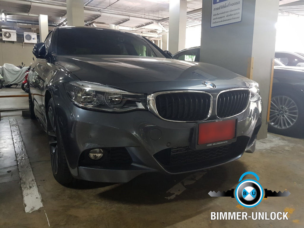 BMW F34 3GT Coding Unlock Full Option