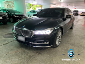 BMW Series 7 G12 740LI Coding Apple CarPlay Full Screen and More ...
